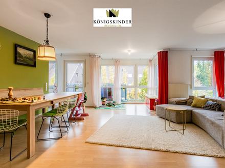 Helle 3,5 - Zimmer Wohnung in zentraler Lage und fürstlicher Umgebung