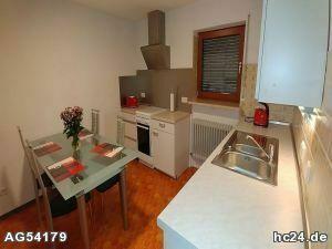 ***ruhig gelegene, voll ausgestattete 2 Zimmerwohnung am Roten Berg.
