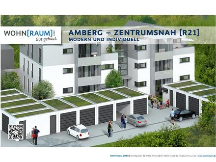 Neubau-Eigentumswohnung in Amberg - zentrumsnah [R21] - mit eigenem Gartenanteil