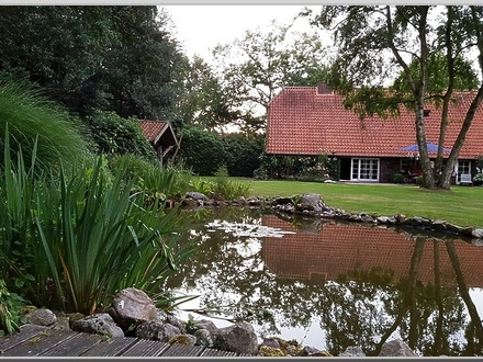 Naturnahes Leben auf einem idyllisch gelegenen Anwesen