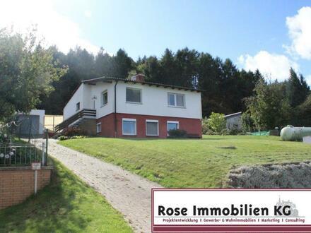Einfamilienhaus mit Einliegerwohnung direkt am Wiehengebirge mit Fernblick!