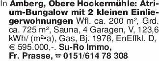 In Amberg, Obere Hockermühle:...