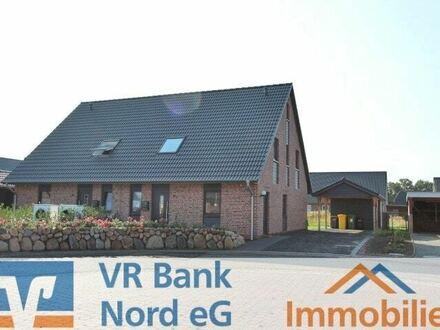 Vermietung einer Doppelhaushälfte mit ausgebautem Studio und Carport in Bahnhofsnähe - Neubau -