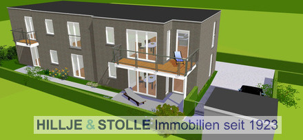 Erstbezug! Exklusive Erdgeschosswohnung im Bürgereschviertel!