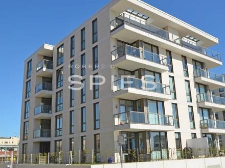 OCEON LIVING -2-Zimmer-Penthousewohnung mit Wasserblick Balkon und Fahrstuhl