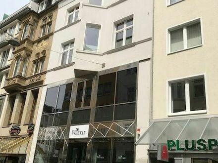 In der Fußgängerzone von Bielefeld!