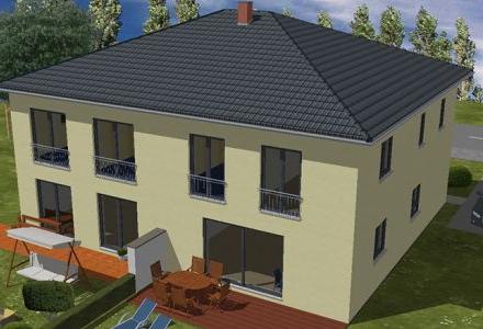 Modernes Doppelhaus für die Stadt Planungsstatus !