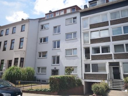 Sanierte Dachgeschoss-Wohnung Nähe Wallanlagen