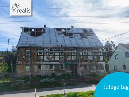 +sanierungswürdiges Fachwerkhaus in Augustusburg-Hennersdorf+anpacken und ausbauen!