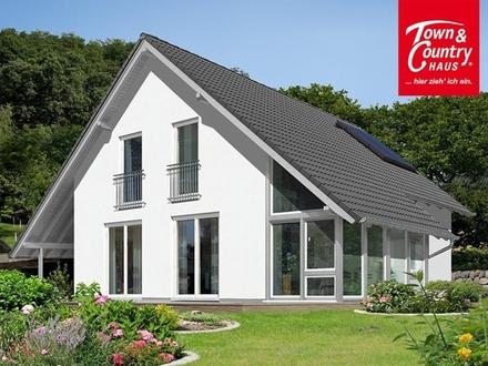 Horn Bad Meinberg Sonniges Grundstück und ein Haus mit Wintergarten