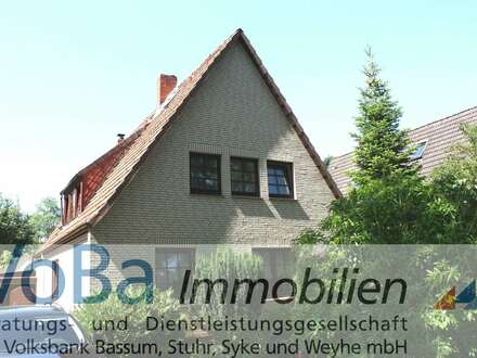 Solides Einfamilienhaus in Huchting in Liebhaberhände abzugeben