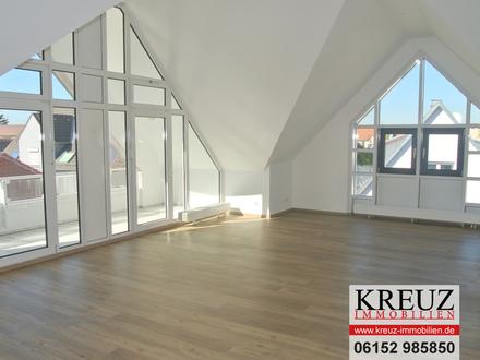 Moderne extravagante 2 1/2 Zimmer - Dachgeschosswohnung in Citylage