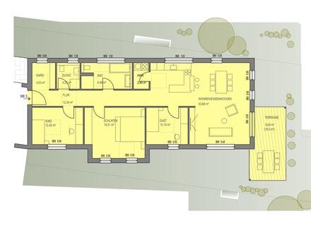 Neu 4,5- Zimmer Wohnung in Offenau!