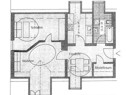 Helle 2,5-Zimmer-Wohnung, zentrumsnah, Deggendorf