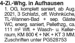 4 Zi. Whg., in Aufhausen