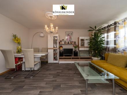 Stuttgart-Münster: Schöne 3-Zimmer-Dachgeschosswohnung mit eigenem Gartenanteil in guter Lage!