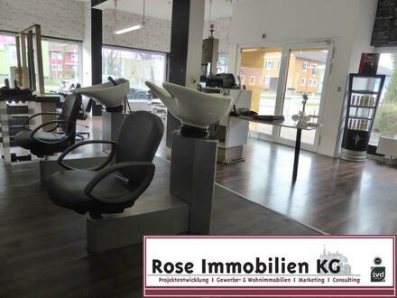 Rose-Immobilien-KG:Nachmieter willkommen - Friseurgeschäft in guter Lage von Espelkamp