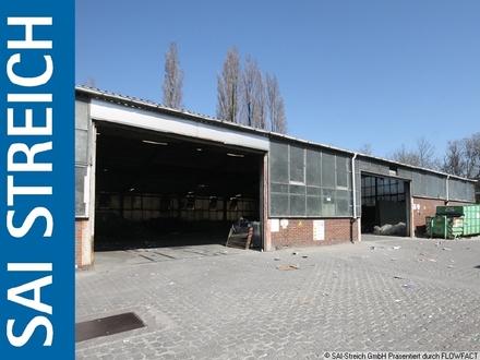 Zentrale Lagerhalle mit 1.710m² Außenstellfläche