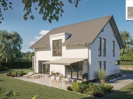 Genießen Sie die sonnigen Ausblicke in Ihrem neuen Traumhaus!