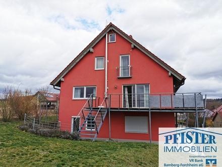 Schönes Wohnhaus mit 3 Wohneinheiten in idyllischer Randlage in Memmelsdorf OT