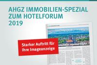 AHGZ Immobilien-Spezial: hotelforum 2019