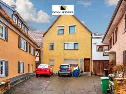 Interessantes 2,5-Familienhaus mit Ausbaupotential in Gechingen