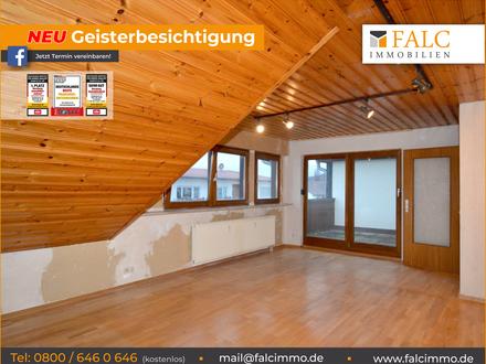 Gemütliche Dachgeschoss Wohnung sucht neuen Eigentümer ( Geisterbesichtigung hier möglich)