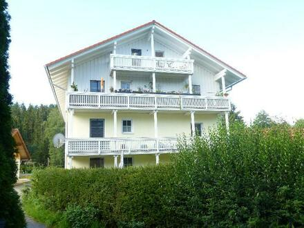 Zwei-Zimmer-Erdgeschoss-Wohnung mit Gartenanteil Nähe Zwiesel