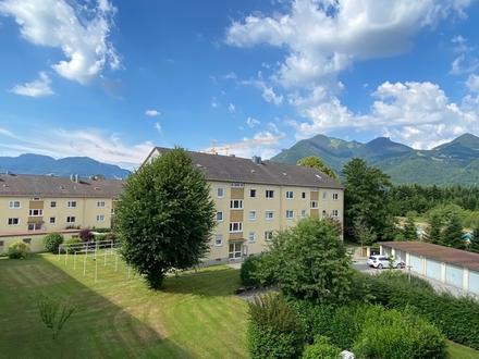 Sofort beziehbar Gut geschnittene 3-Zimmer-Wohnung mit unverbaubarem Bergblick