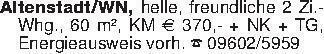 Altenstadt/WN, helle, freundli...