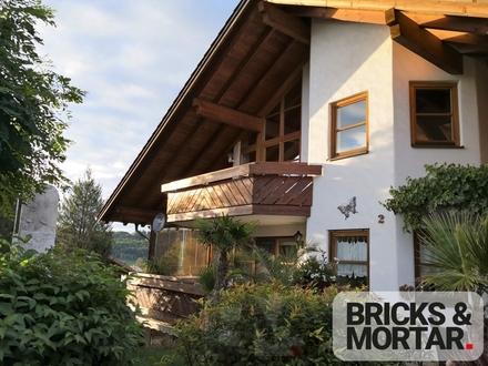 Traumhafte 4-Zimmer-Dachgeschosswohnung mit 2 Balkonen in Wildpoldsried