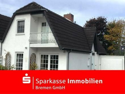 Bremen-Mahndorf: Gemütliche und gepflegte Doppelhaushälfte am Mahndorfer Deich