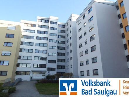 +++ Fahrstuhl, Tiefgarage + Ausblick +++ 4-Zimmer-Wohnung in Bad Saulgau