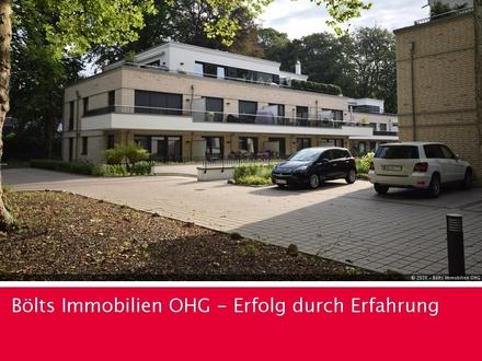 Bremen-St.Magnus ! Exclusive 4-Zimmer Erdgeschoss-Wohnung mit großem Außenbereich