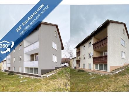 Herrlicher Blick über Tiefenbach 4-Zimmer-Wohnung mit Tageslichtbad und 2 Balkonen