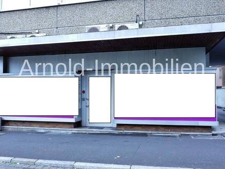 ARNOLD-IMMOBILIEN: Zentrale Laden-/Büroeinheit über 2 Ebenen - stufenloser Zugang