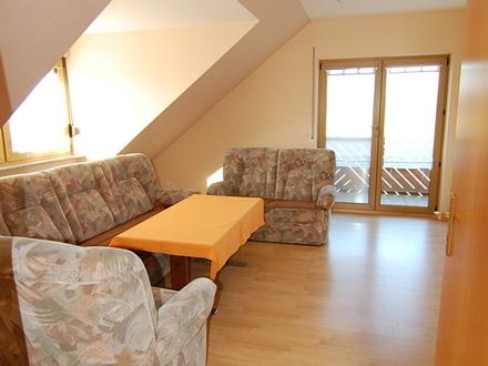 Gepflegte 3,5 Zimmerwohnung mit zwei Balkonen in Dornau