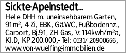 Sickte-Apelnstedt...