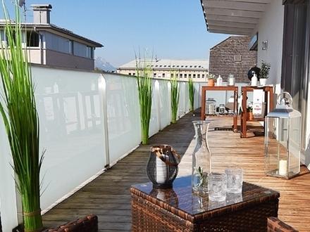 Penthouse-3-Zimmer-Mayburger Kai-Salzburg-Terrasse