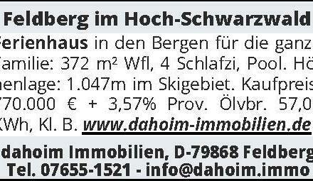 Feldberg im Hoch-Schwarz
