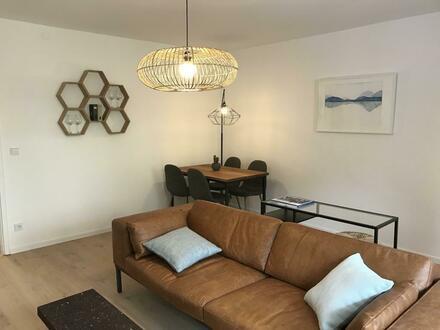 2 Zimmer Wohnung komplett möbliert
