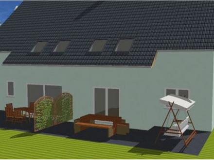 Sehr praktische Doppelhaushälfte für das Landgebiet im Planungsstatus !