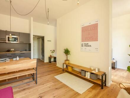 1-/2-Zimmer-Apartments in parkähnlicher Umgebung: Letzte Chance - Sanierungsgebiet-Projekt!