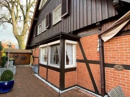 Hübsche Fachwerk-DHH großz. Räume Wintergarten - ideal f- 2-3- Personen 33790 Halle-OT Hesseln