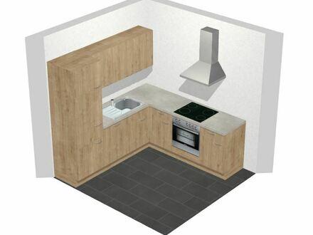 Kernsanierte, 1-Zimmer Einl. Wohnung mit Küche