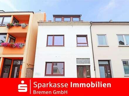 Ein- Zweifamilienhaus mit Garten und guten Verkehrsanbindungen in Bremen Hastedt.