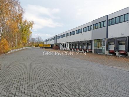Moderne Lagerhallen mit Büro
