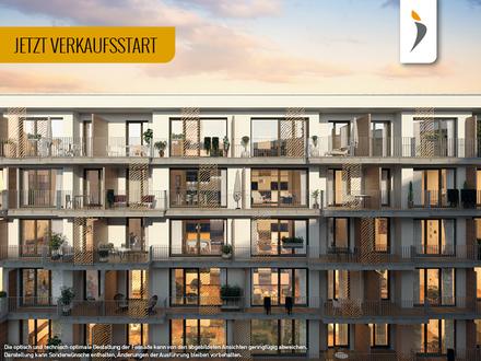 3 Zimmer und Südwestbalkon zum ruhigen Innenhof: Geräumige Wohnung am Stadtpark | Kategorie GOLD