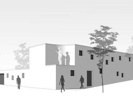 Neubau eines Einfamilienhauses mit Garage in Melle-Mitte
