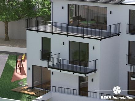 BERK Immobilien - helle & moderne Neubau-Dreizimmerwohnung mit zwei Balkonen